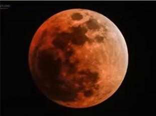 月亮刷爆朋友圈,美哭了!